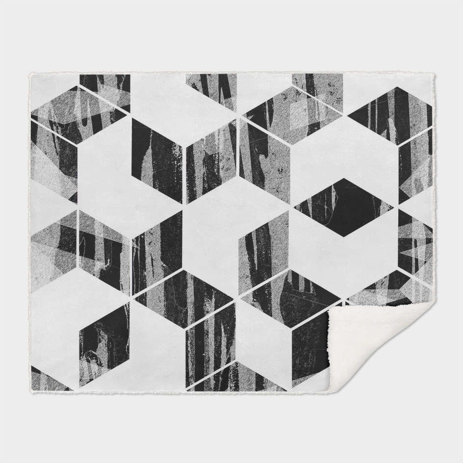 Elegant Black and White Geometric Design