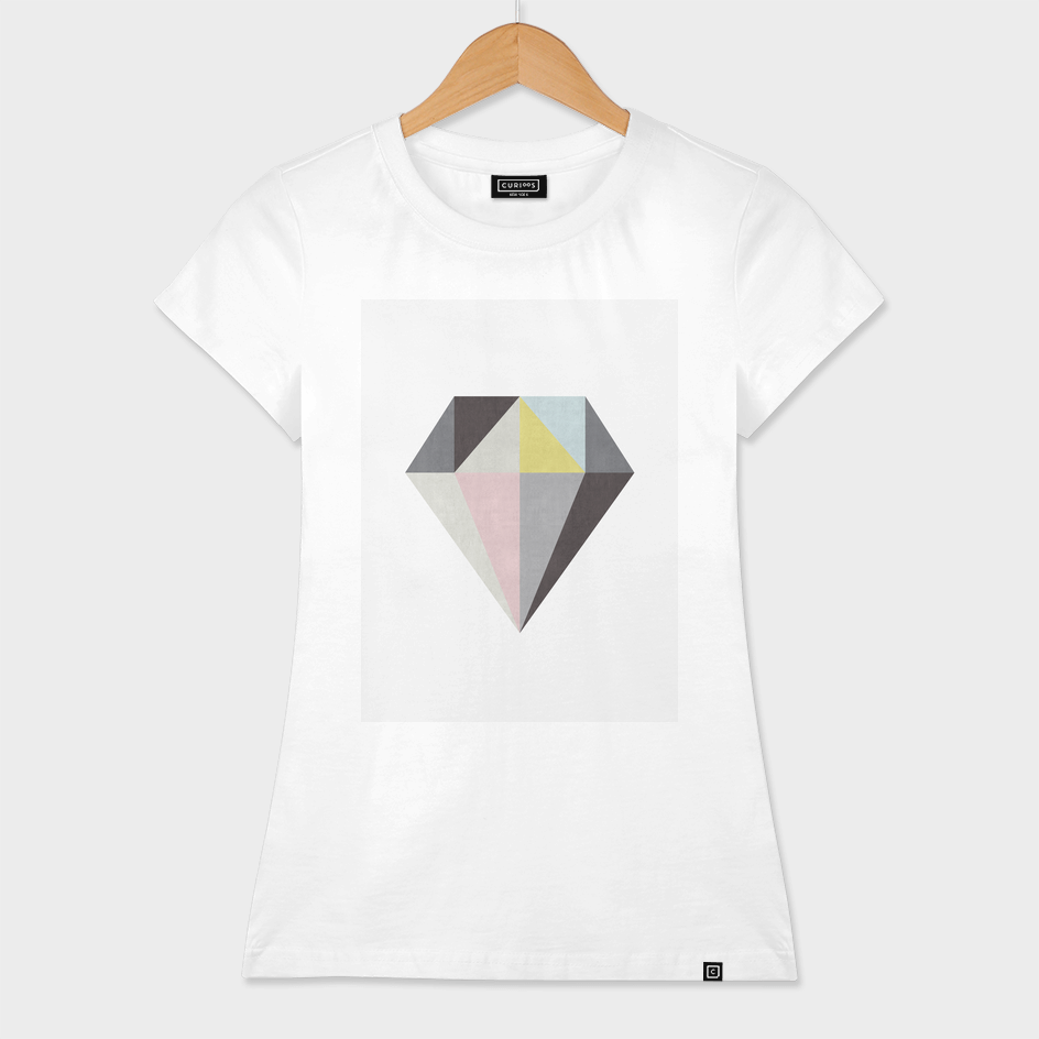 Minimalist and geometric diamond