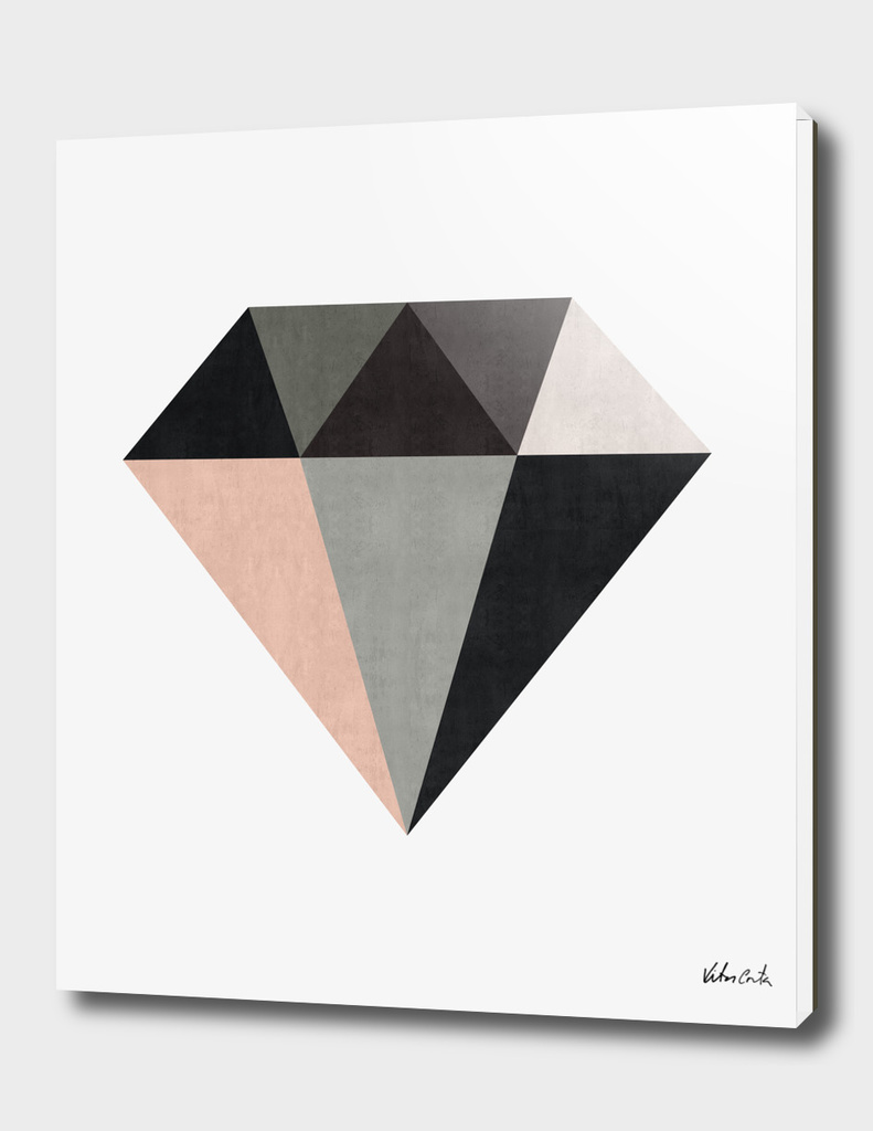 Geometric and minimalist diamond