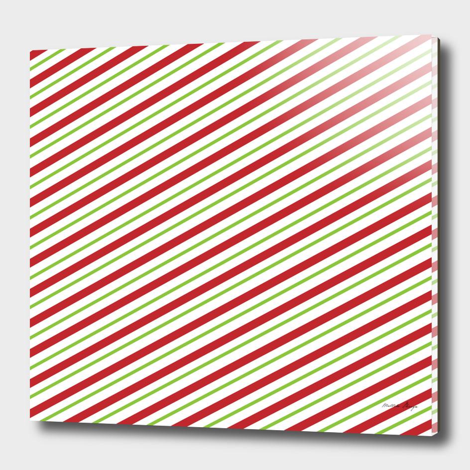 slanting stripes