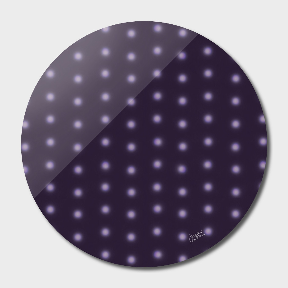 """Polka Dots Degraded & Purple shade of Grey"""