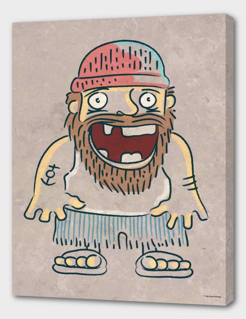 Toothless sailor illustration