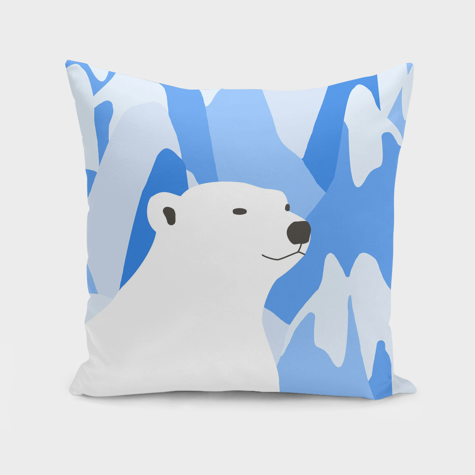Polar Bear In The Cold Design