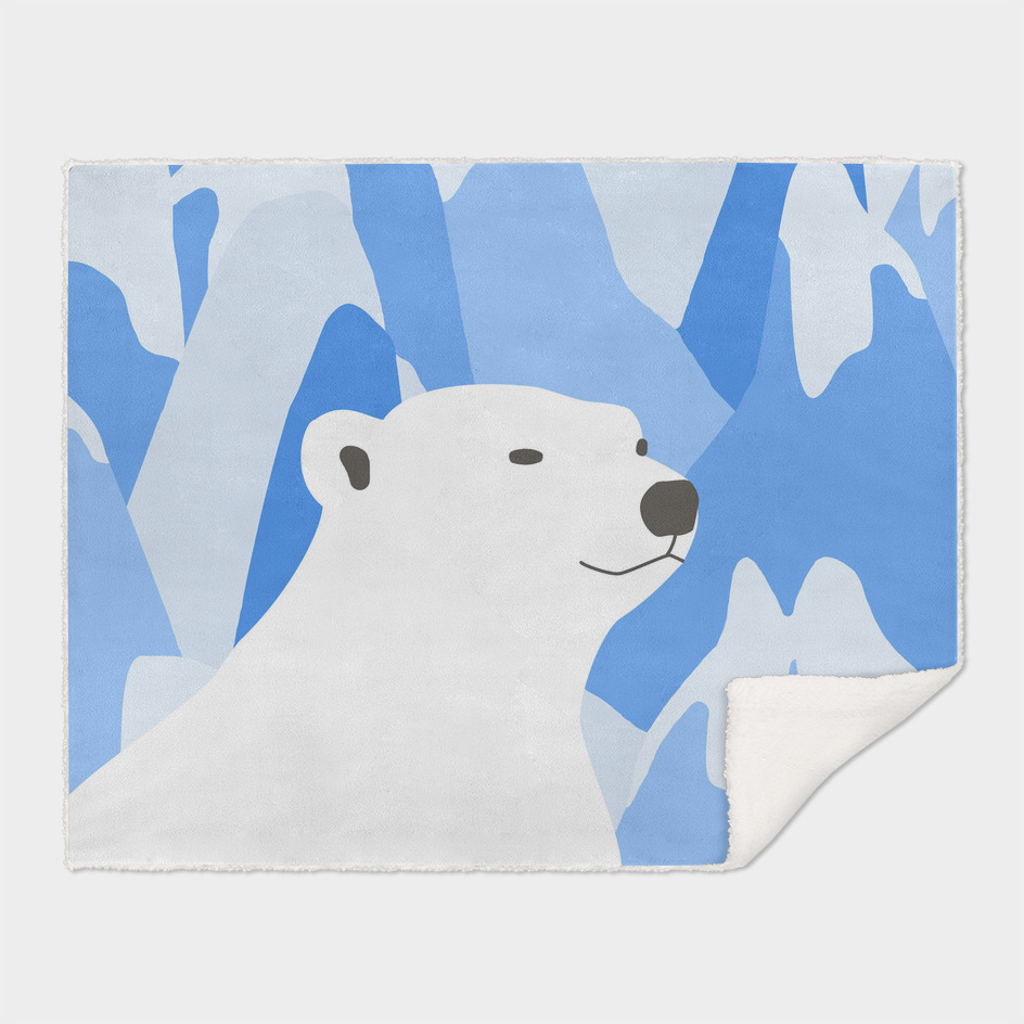 Polar Bear In The Cold Design