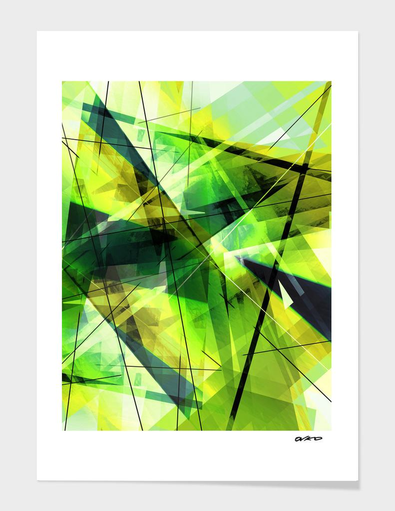 Vitalize - Geometric Abstract Art