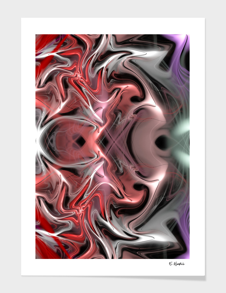 The Return abstract fine art print