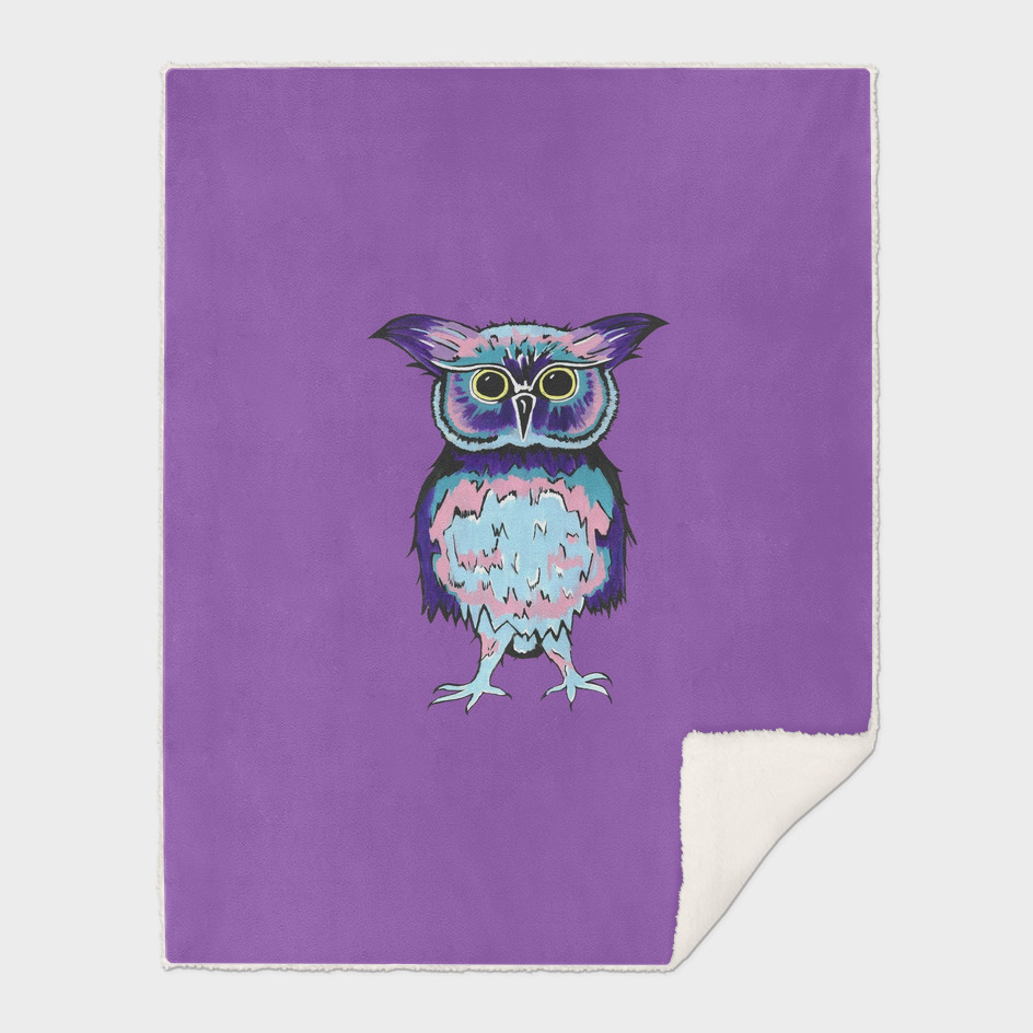 Small Owl Purple