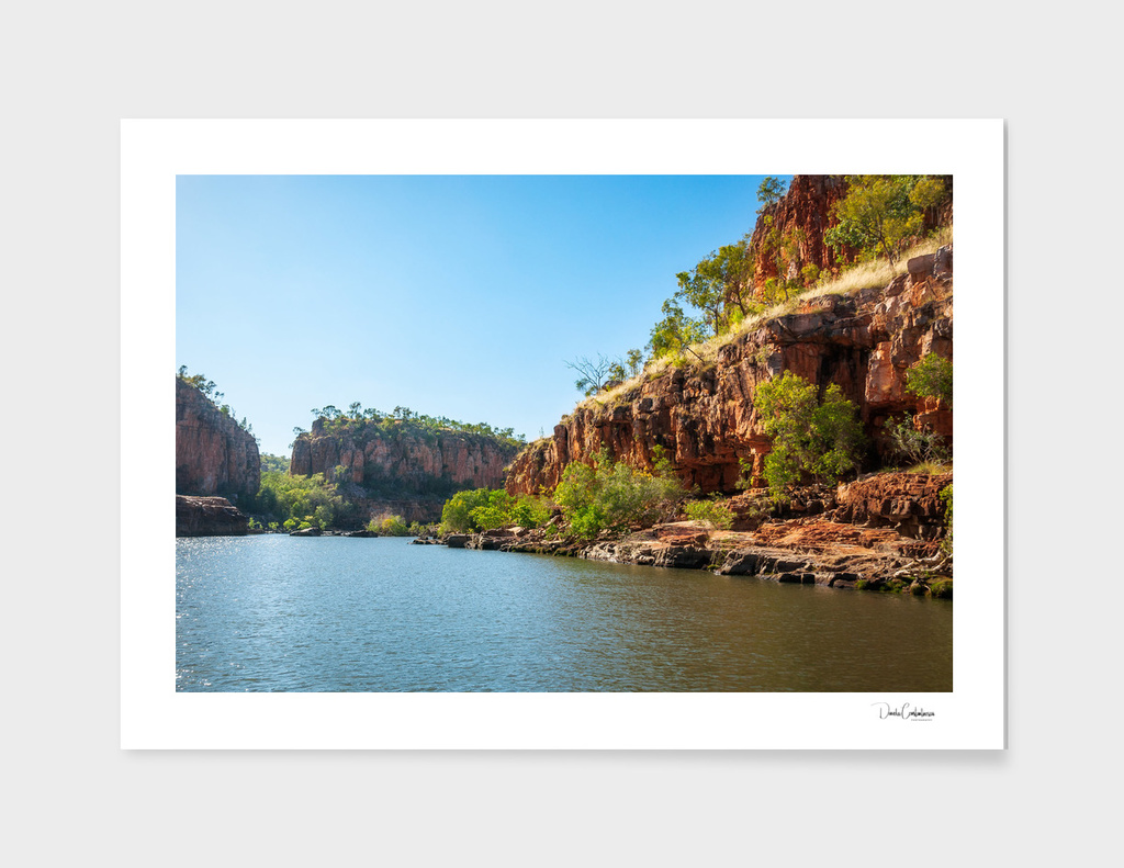 Wonderful Katherine River Gorge landscape, Australia