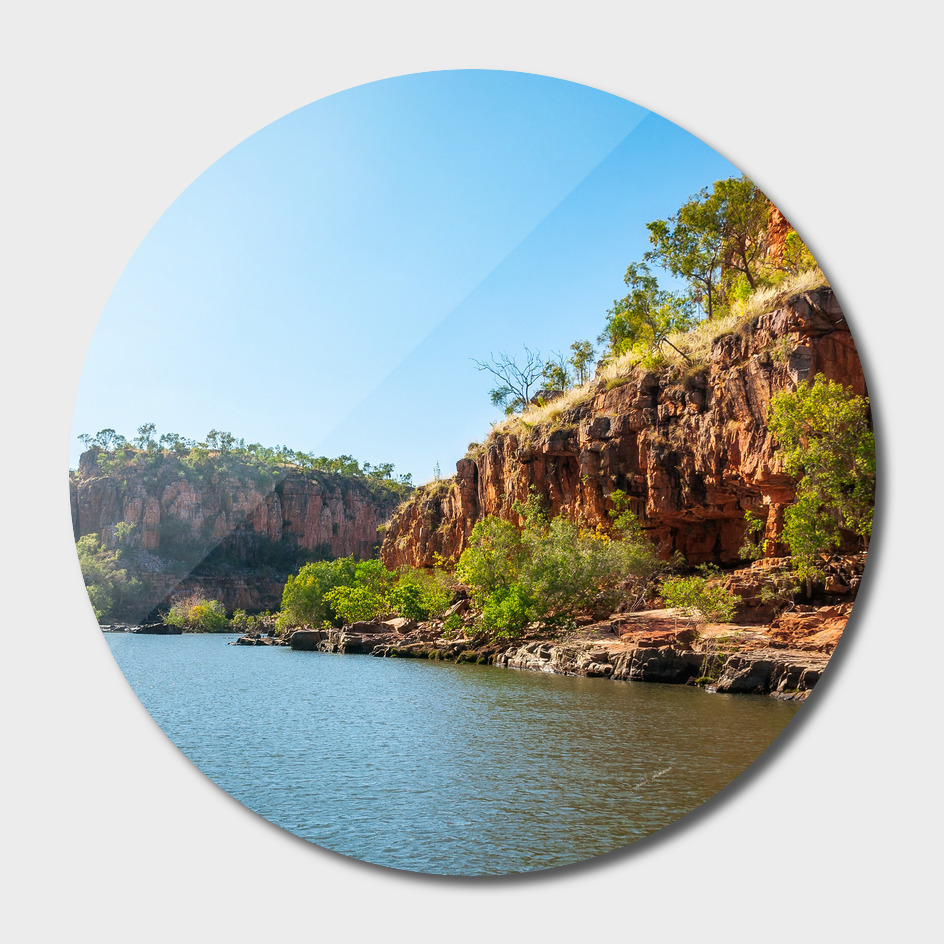 Wonderful Katherine River Gorge landscape, Australia