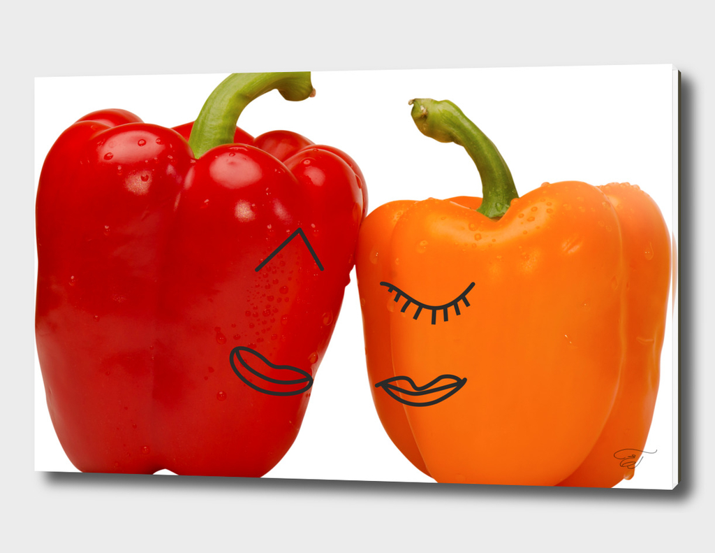 Sweet love of the sweet peppers