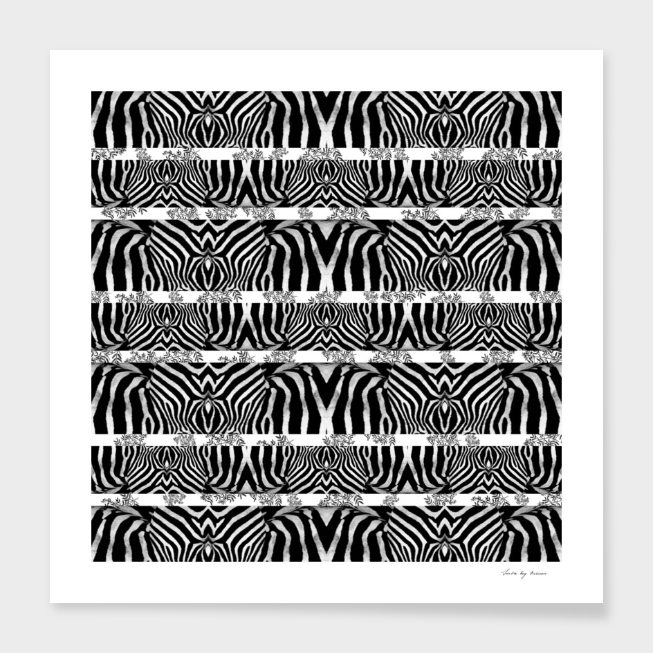Zebra Stripe Pattern