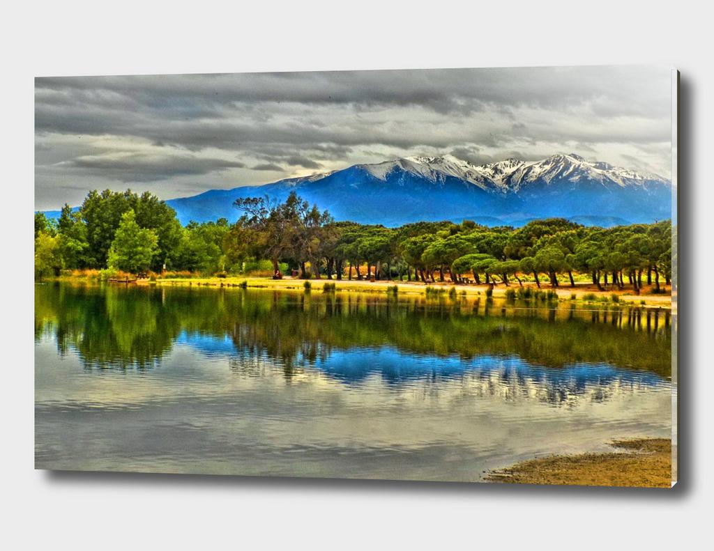 Lac de villeneune de la raho