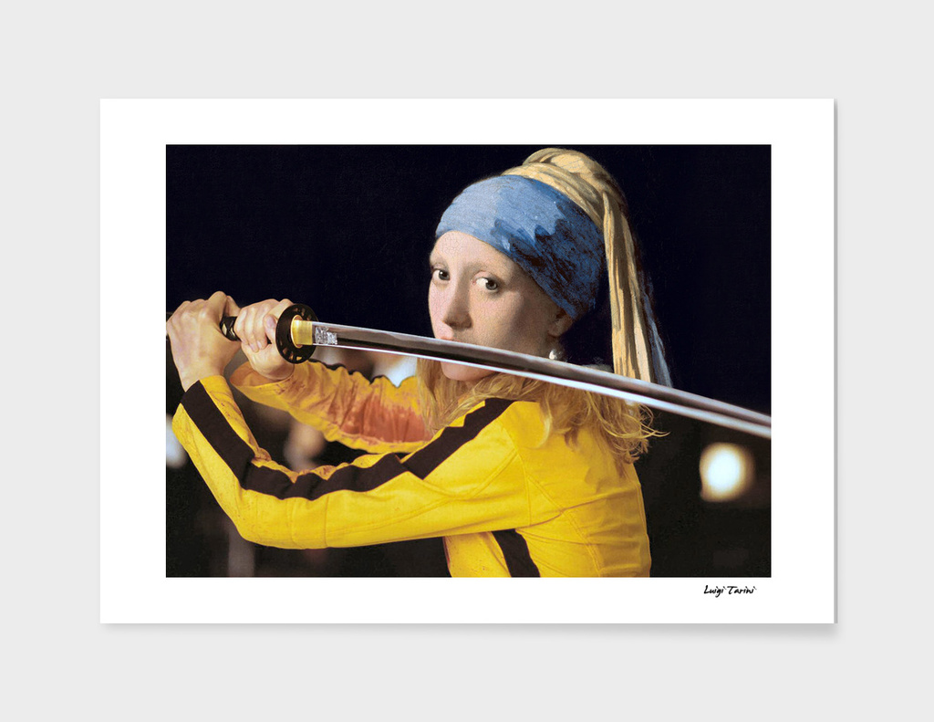 "Vermeer's ""Girl with a Pearl Earring"" & Kill Bill"