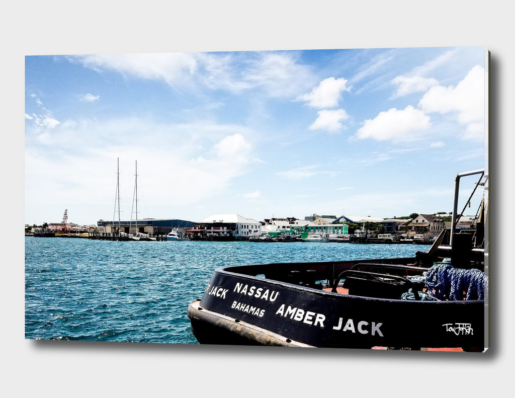 Docked at Nassau