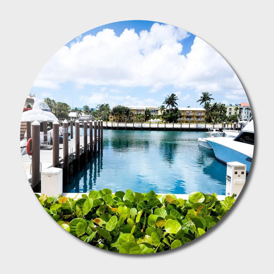 Boat Dock at the Bahamas