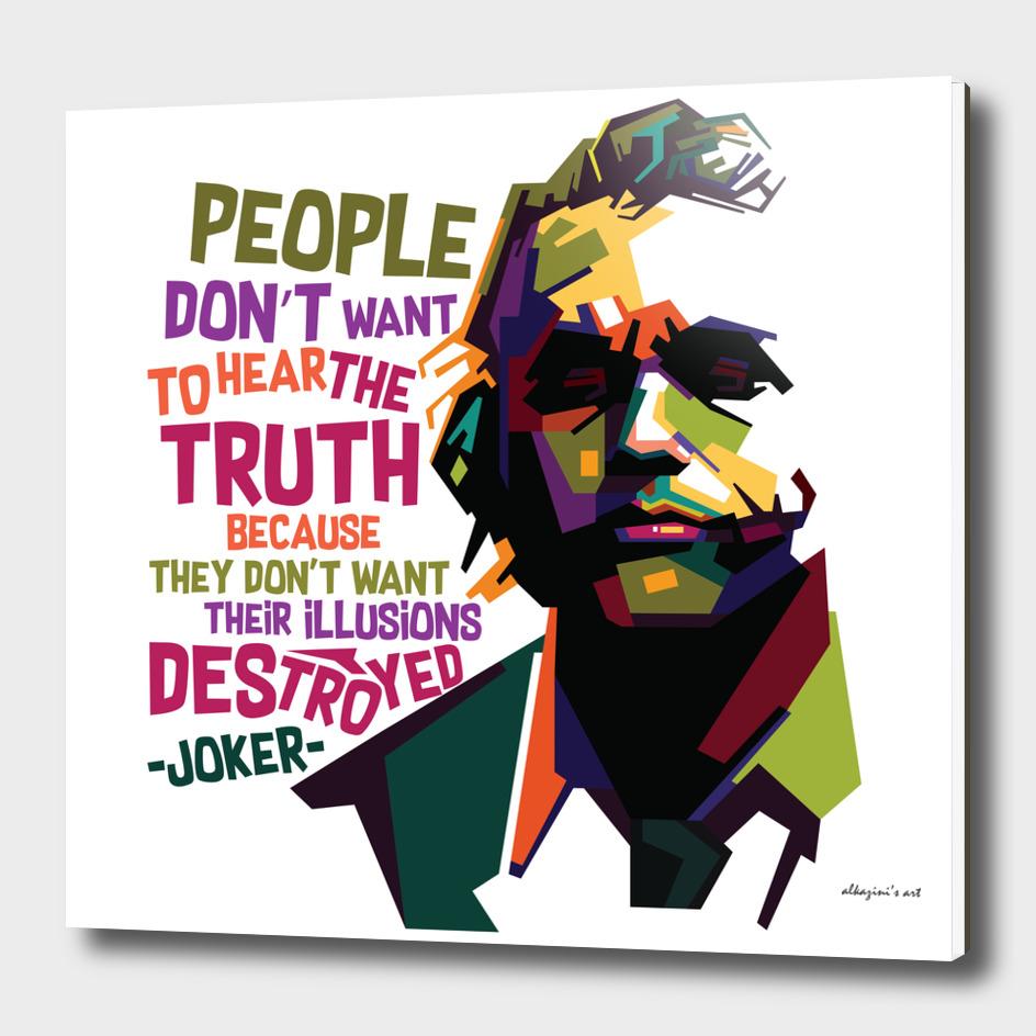 The Joker's Quote