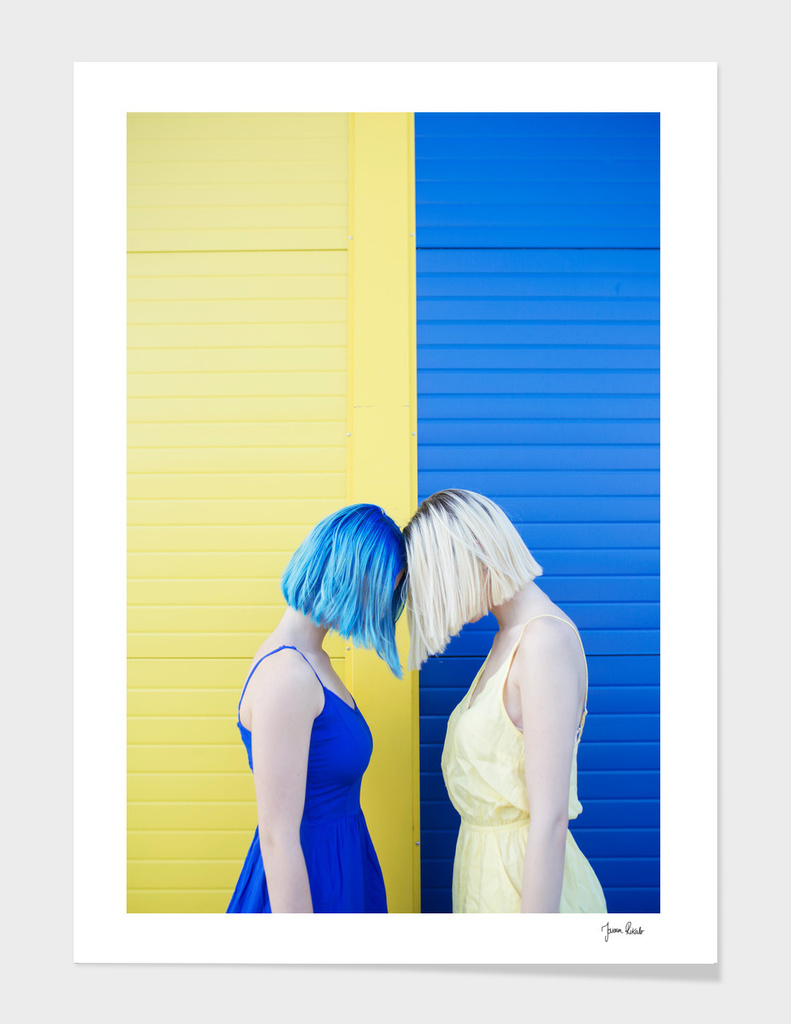Yellow vs blue
