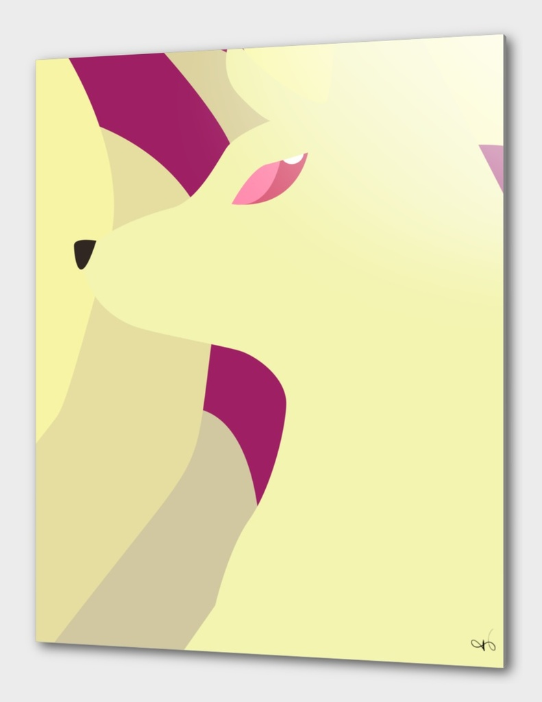 Close up art - Ninetails