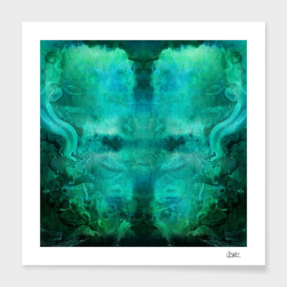 """""""Abstract aquamarine, deep waves"""""""