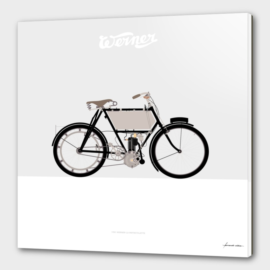 1901 Werner La Motocyclette