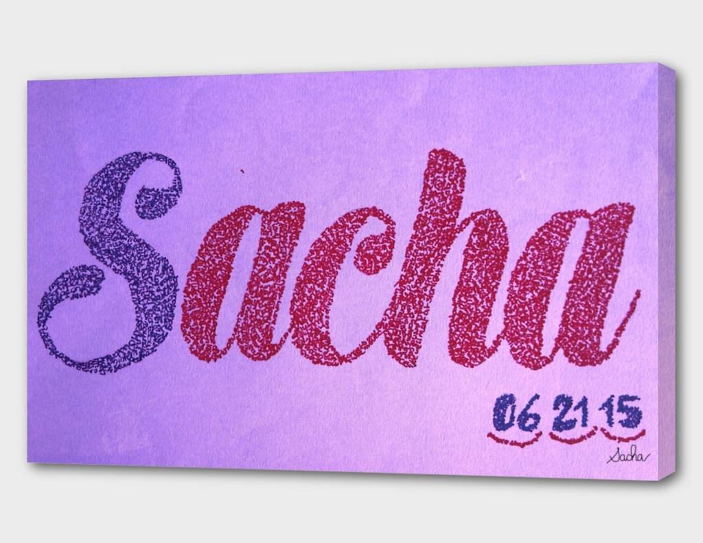 Sacha Bat-Mitzvah logo