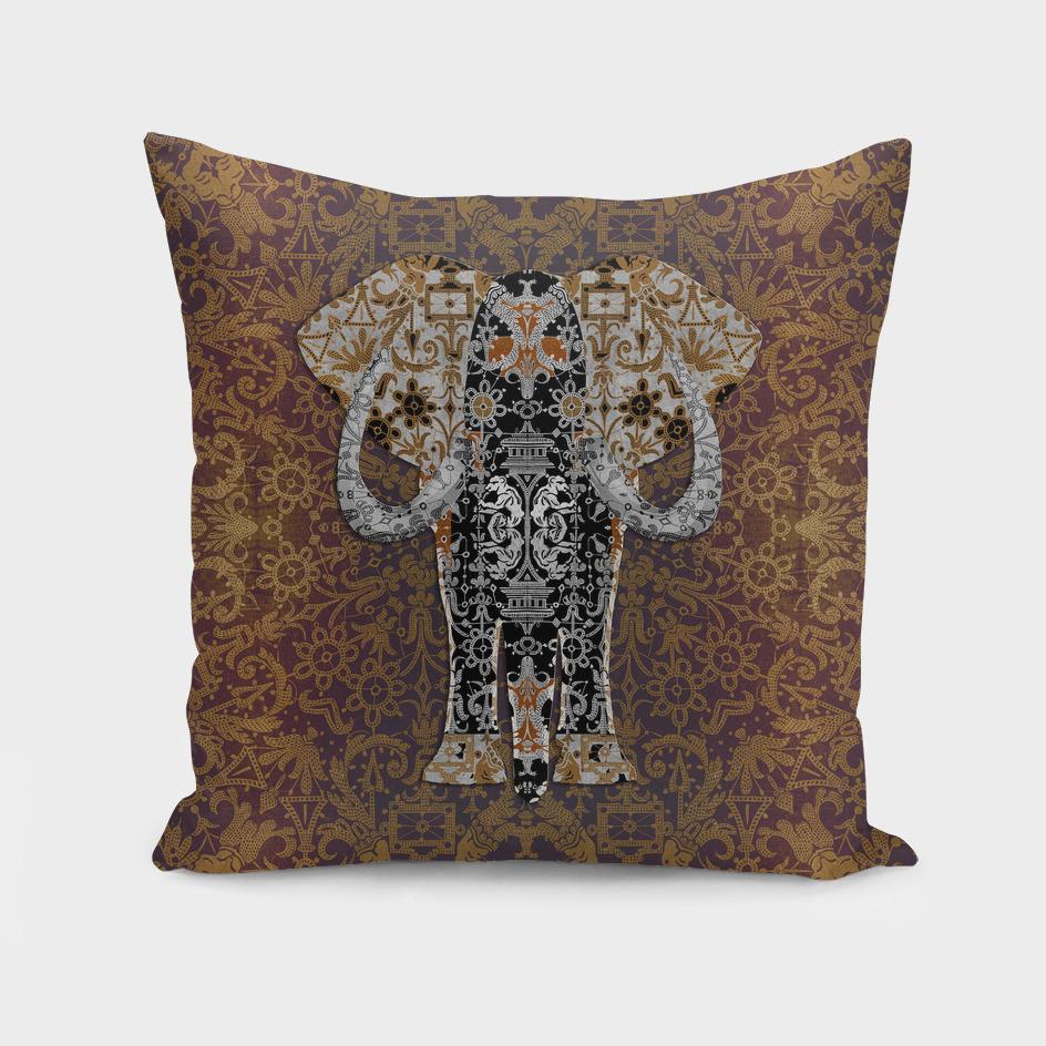 Ganesha   (Bobbin Lace Background Pattern)