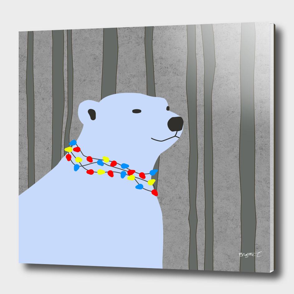 Polar Bear Holiday Design