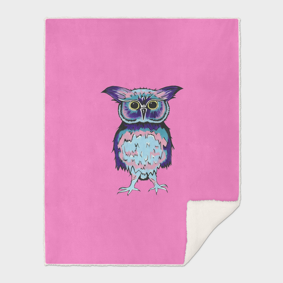 Small Owl Pink