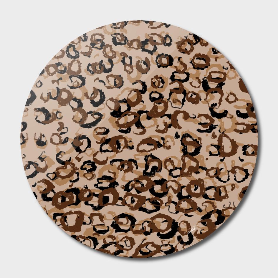 Leopard Scribble