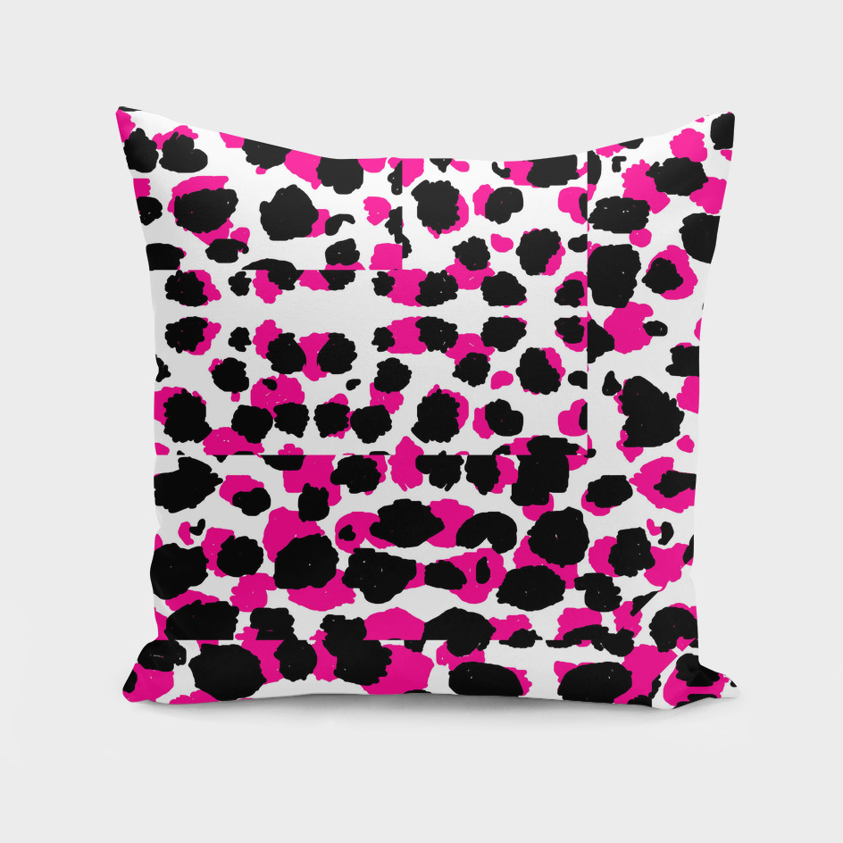 black pink and white leopard 2