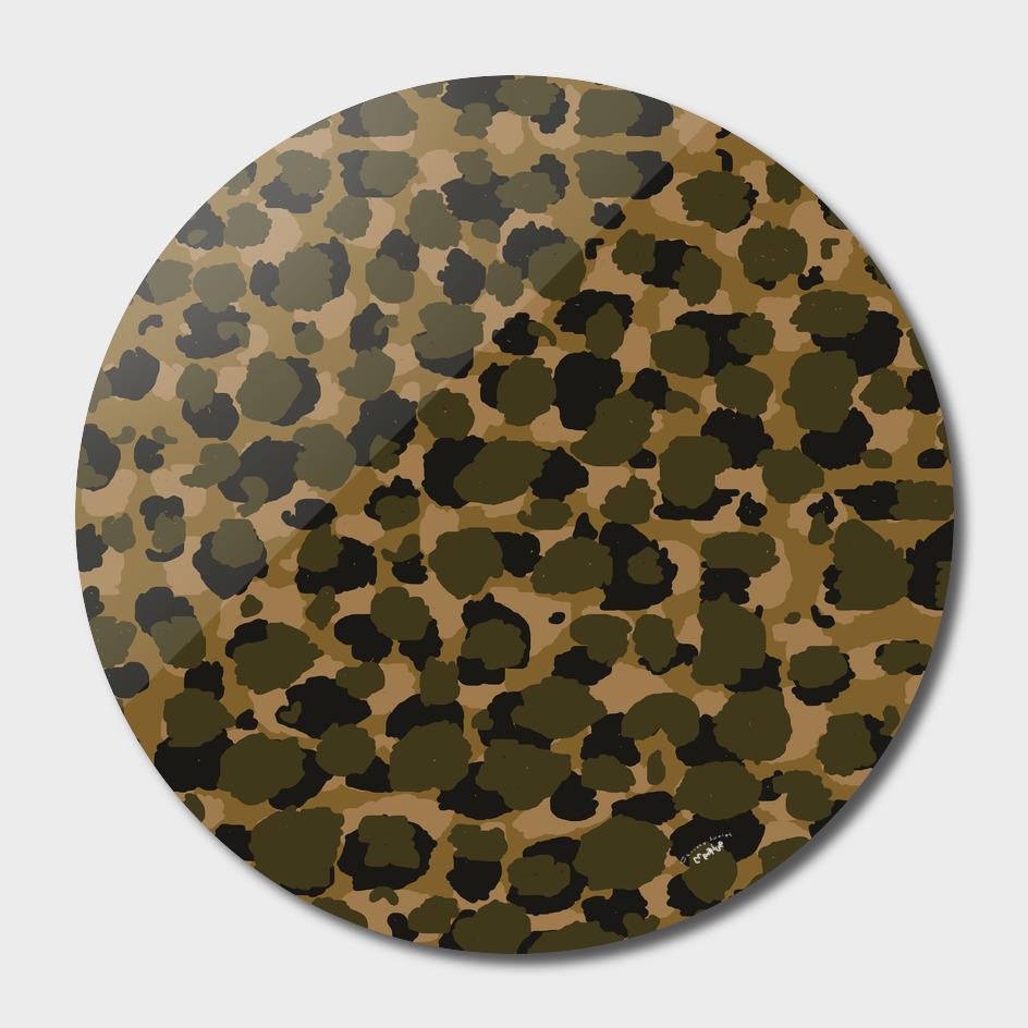 Camo leopard