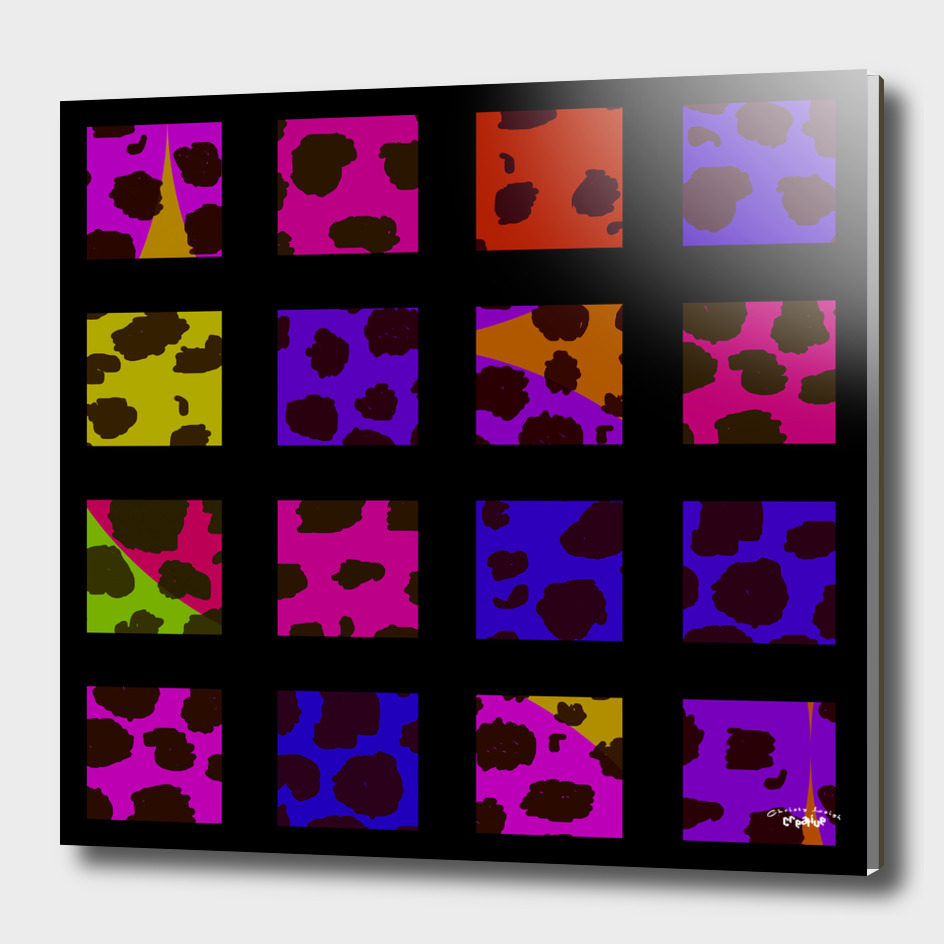 Pop Art Leopard Tiles