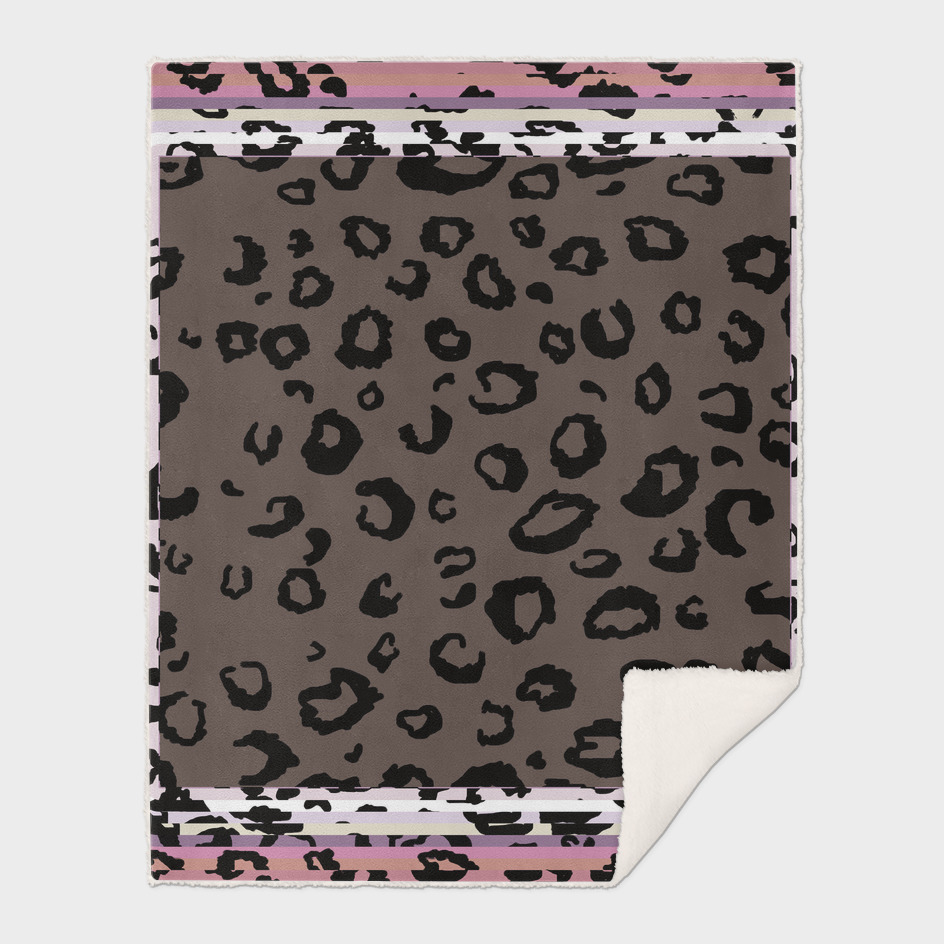 Leopard Print Square