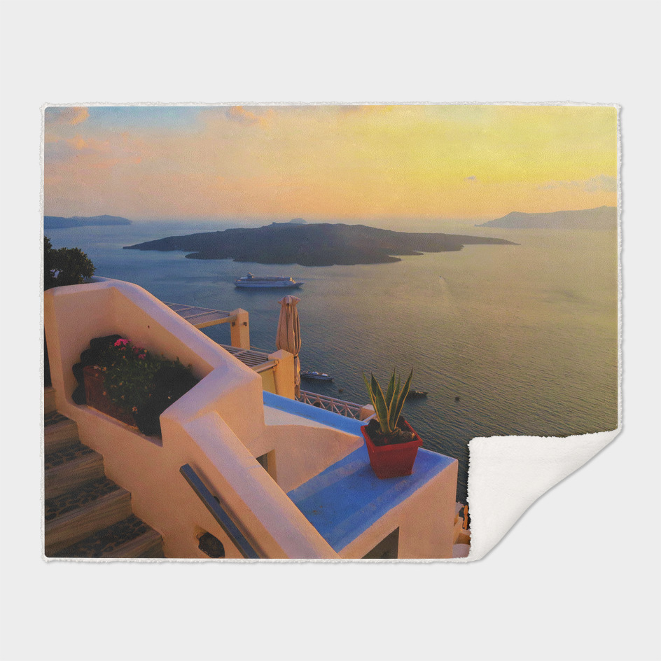 Sunset in Santorini ii