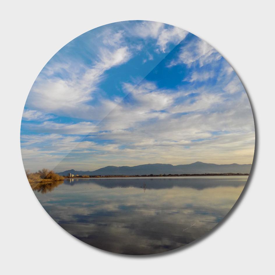 Reflet sur l étang