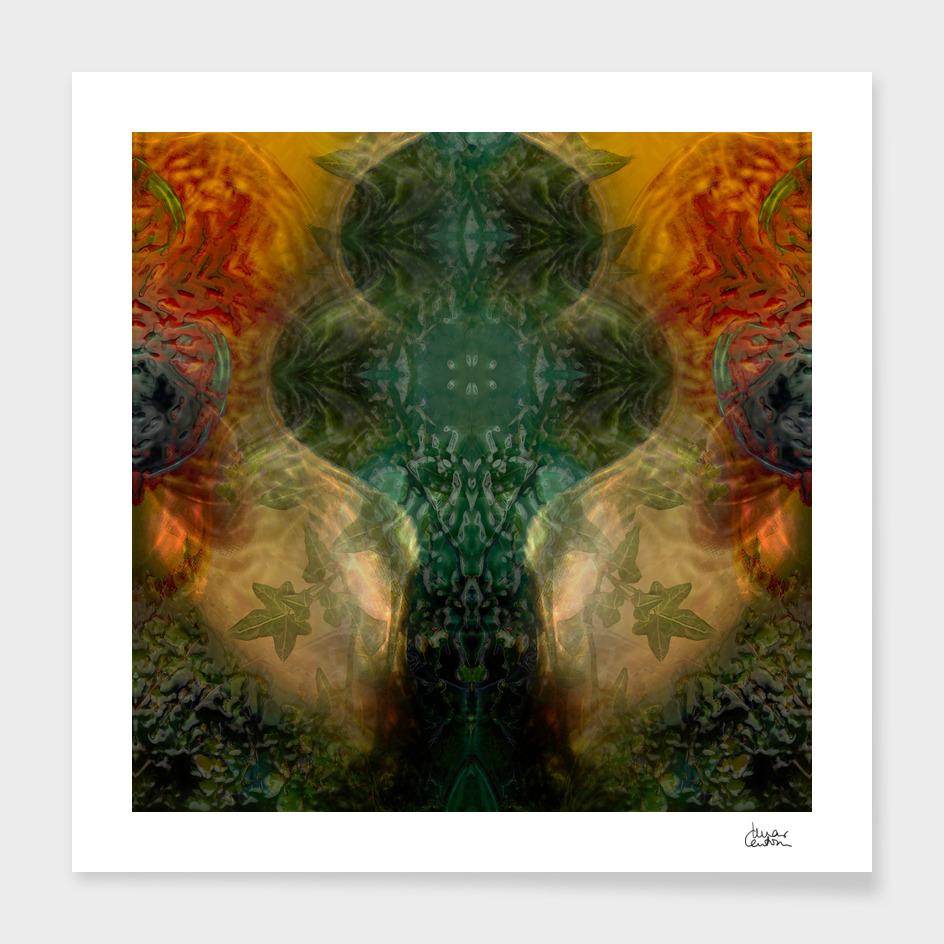 """""""The Inner Forest (caramel pattern)"""""""