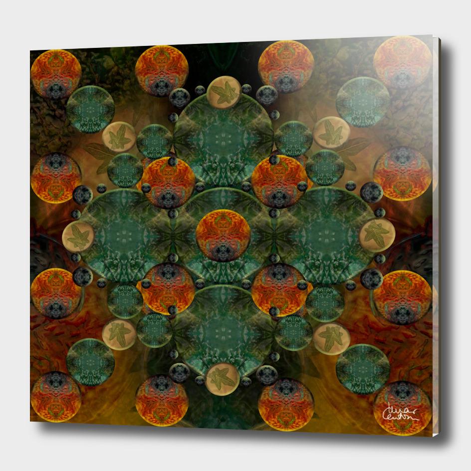 """""""Glass candy Mosaic (caramel pattern)"""""""