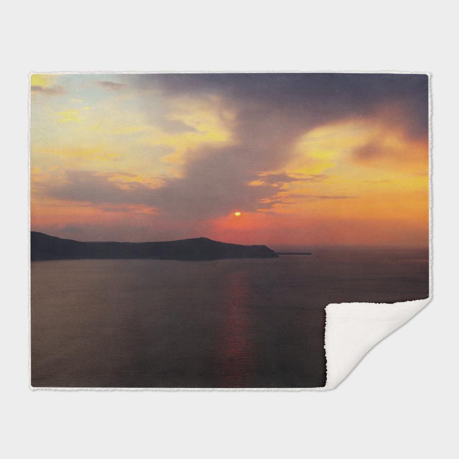 Santorini sunset vx