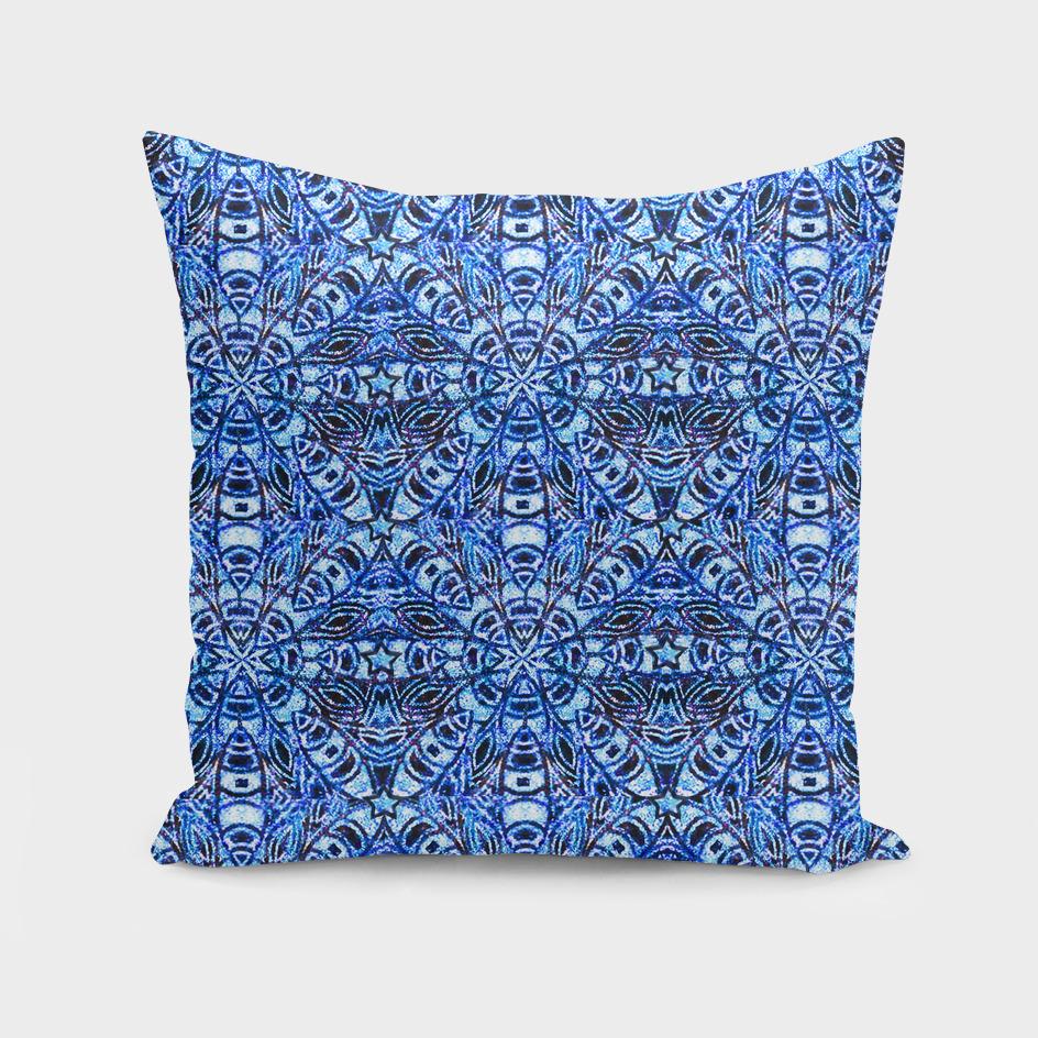 Blue Tile Pattern 1