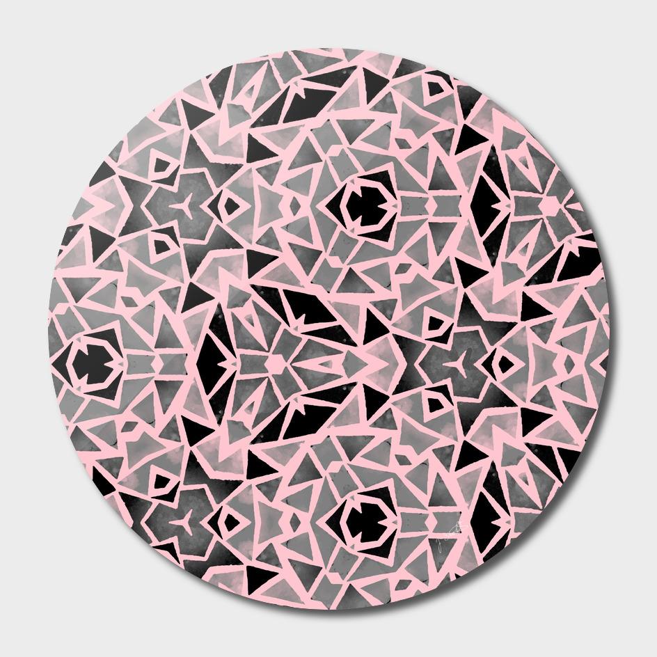 Pink Stones Mosaic