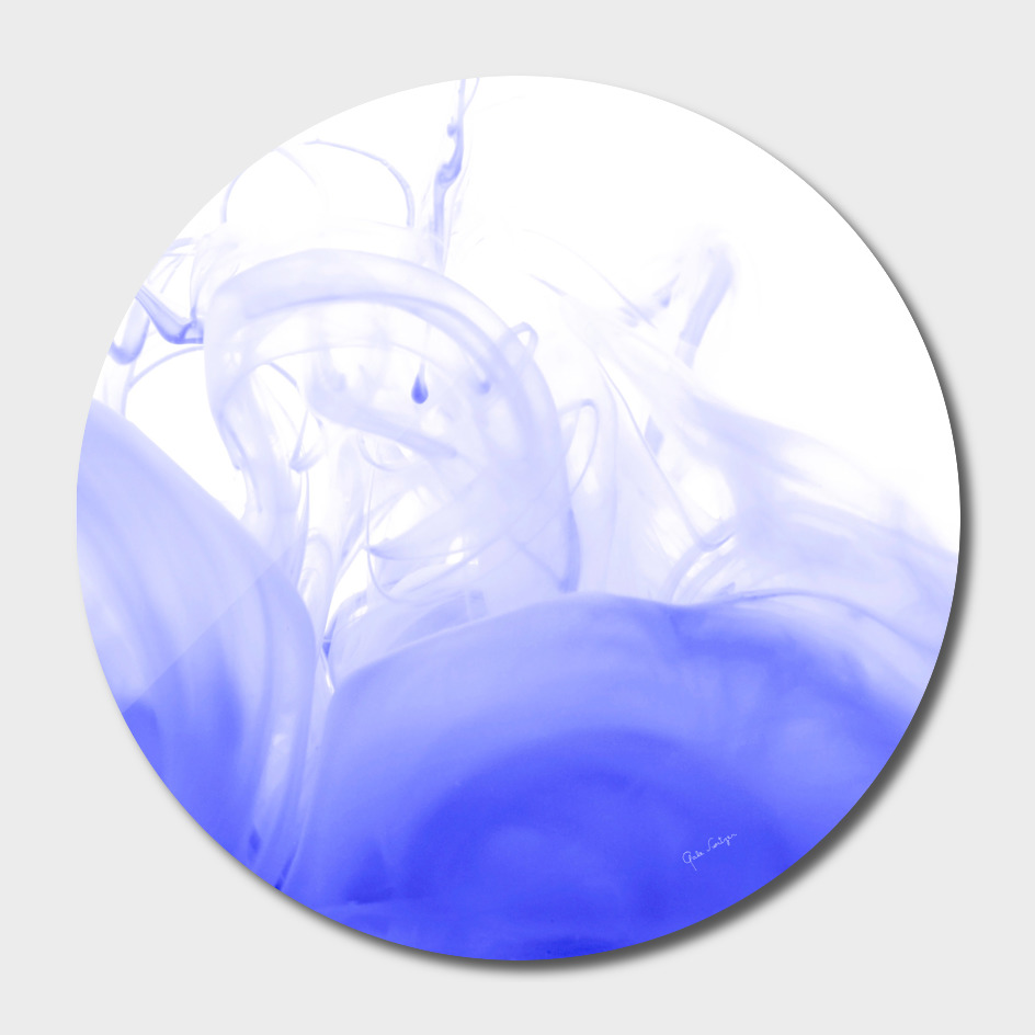 Liquid blue agate