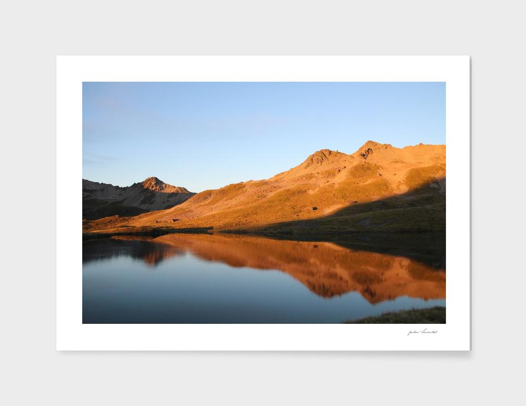 Lake Angelus - New Zealand