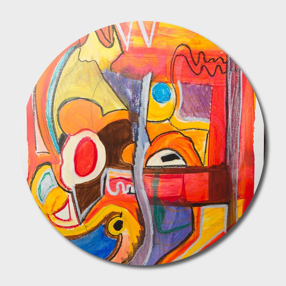 Abstract Paint Modern ART