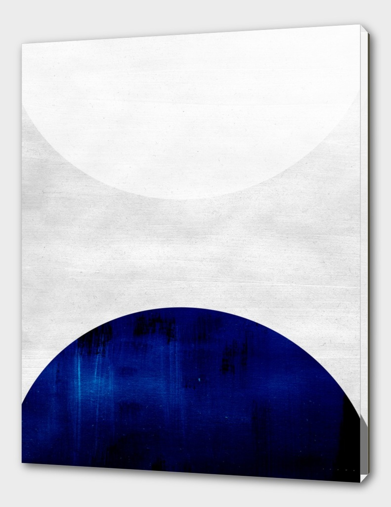 white & cobalt