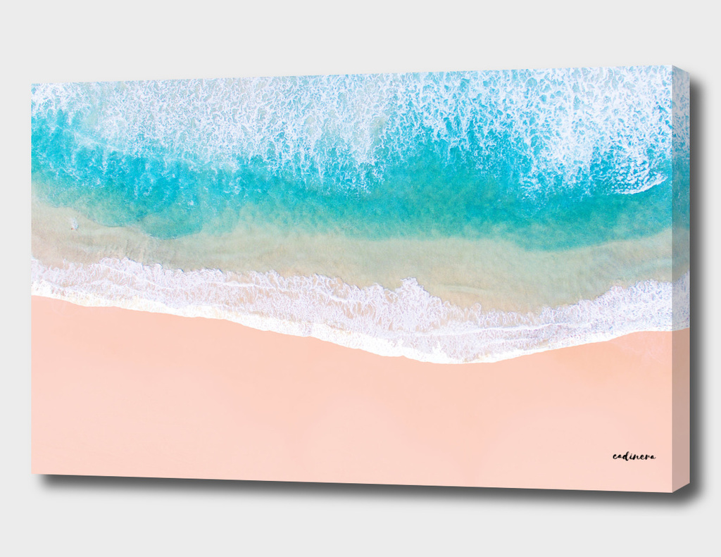 Ocean in Millennial Pink