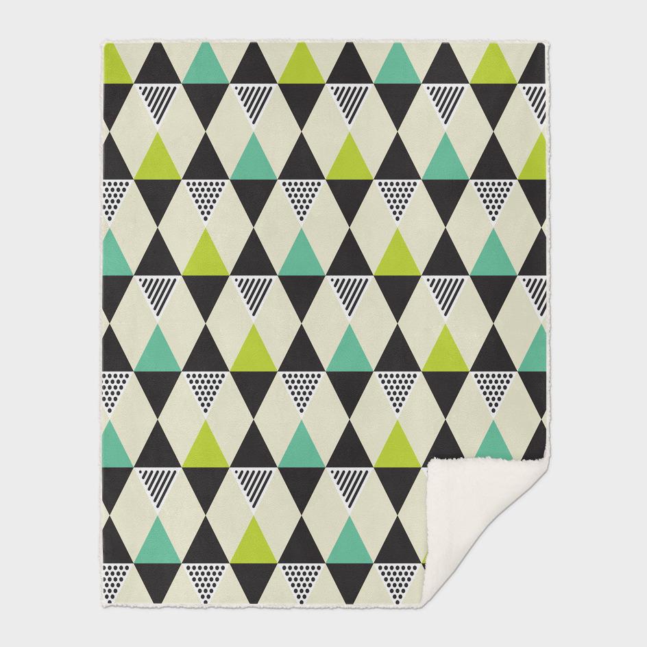 Geometric Pattern #48 (Mid-century)