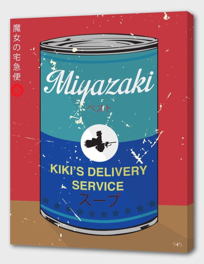 Kiki's delivery Service- Miyazaki - Special Soup Series