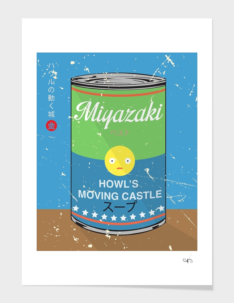 Howl's moving castle - Miyazaki - Special Soup Series