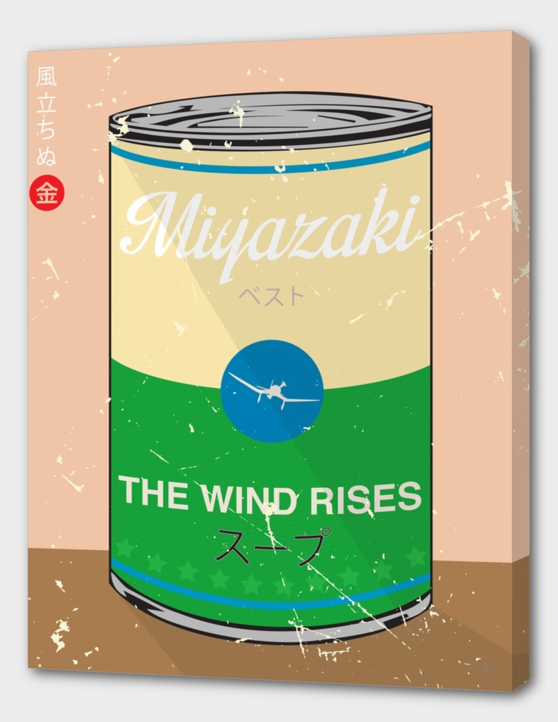 The Wind Rises- Miyazaki - Special Soup Series