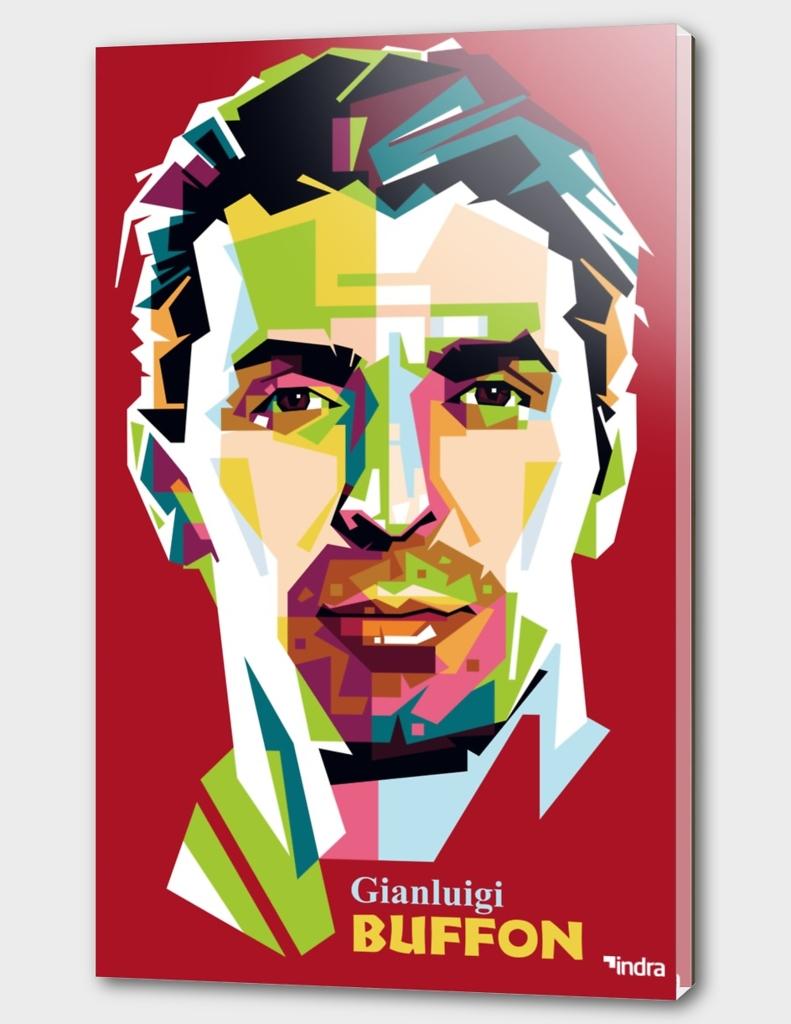 Gianluigi Buffon in Pop Art Portrait